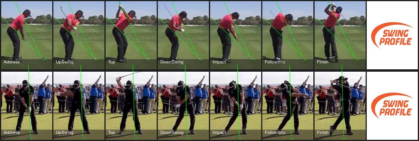 Jason Day Swing Sequence COmbined